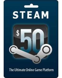 Tarjeta Steam $50 [Codigo Digital]