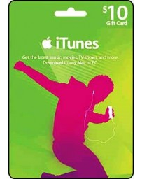 Itunes Gift card $10 [Codigo Digital]