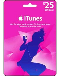Itunes Gift card $25 [Codigo Digital]