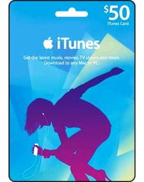 Itunes Gift card $50 [Codigo Digital]