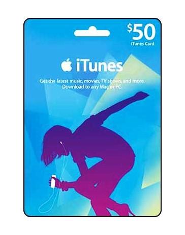 Itunes Gift card $50 [Codigo Digital]