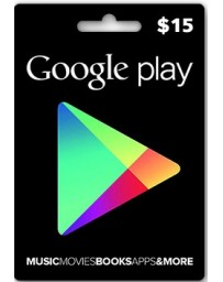 Tarjeta Google Play $15 [Codigo Digital]