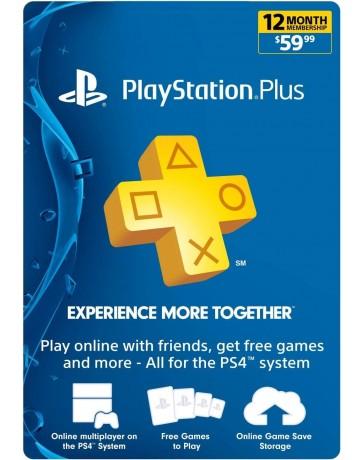 Playstation plus card 12 meses [Codigo Digital]