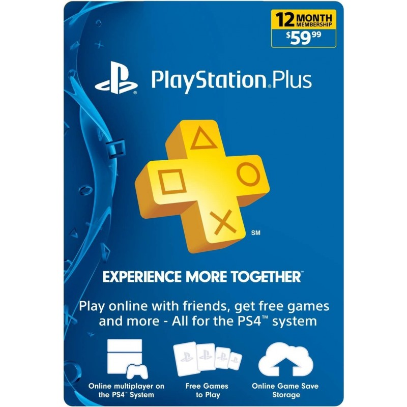 Card Games For Ps4 : Playstation plus card meses codigo digital gamestore