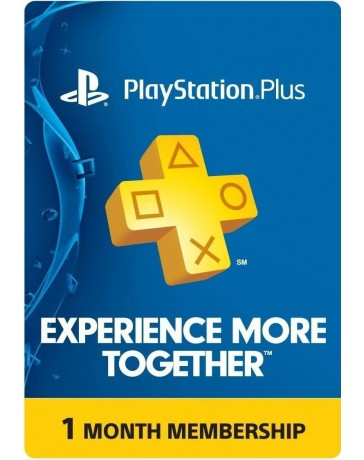 PLAYSTATION PLUS CARD 1 MES [CODIGO DIGITAL]