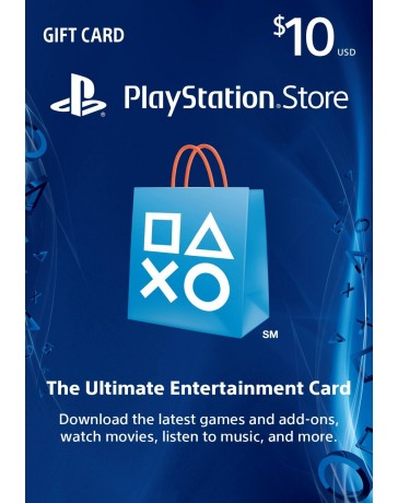 Playstation Gift Card $10 [Codigo Digital]