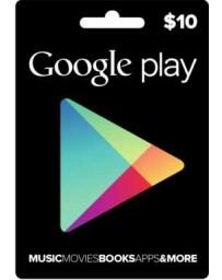 Tarjeta Google Play $10 [Codigo Digital]