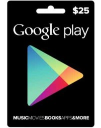 Tarjeta Google Play $25 [Codigo Digital]