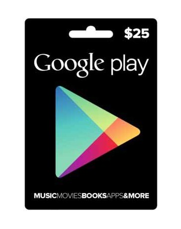 Tarjeta Google Play [Codigo Digital]