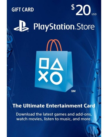 Playstation Gift Card $20 [Codigo Digital]