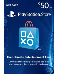 Playstation Gift Card $50 [Codigo Digital]