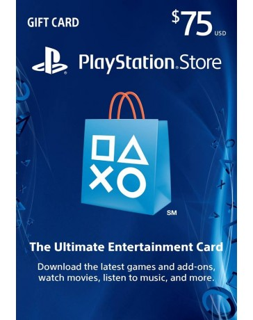 Playstation Gift Card $75 [Codigo Digital]