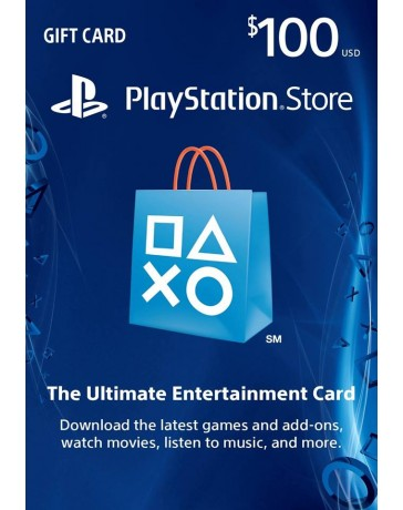 Playstation Gift Card $100 [Codigo Digital]