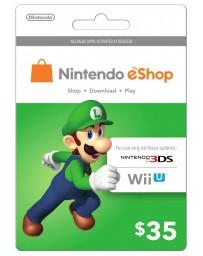 Tarjeta Nintendo E-Shop $35 [Codigo Digital]
