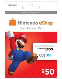 Tarjeta Nintendo E-Shop $50 [Codigo Digital]