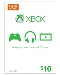 Xbox Gift Card $10 [Codigo Digital]