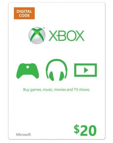 Xbox Gift Card $20 [Codigo Digital]