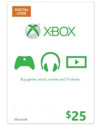 Xbox Gift Card $25 [Codigo Digital]