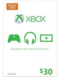 Xbox Gift Card $30 [Codigo Digital]