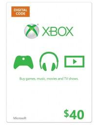 Xbox Gift Card $40 [Codigo Digital]