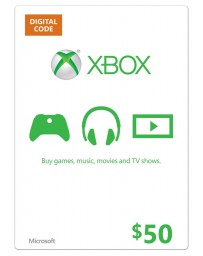 Xbox Gift Card $50 [Codigo Digital]