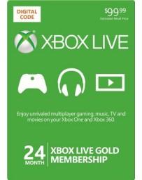 Xbox Live Gold 24 meses [Codigo Digital]